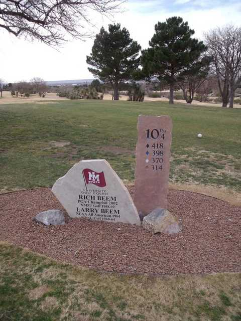 New Mexico State University Golf Course In Las Cruces