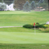 A view of a green at Cree Meadows Country Club