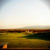 A view from the driving range at Taos Country Club