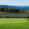 A view of a hole at Taos Country Club