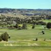 A view from tee #1 at Pinon Hills Golf Course