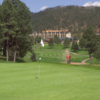 A view of a green at Inn of the Mountain Gods